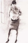 Aldo Luongo Aldo Luongo Working Girl II (Black & White)
