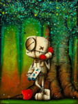 Fabio Napoleoni Fabio Napoleoni Your Voice Makes My Heart Sing (Mini) - Color Print