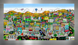 Charles Fazzino Art Charles Fazzino Art You're Going to Hollywood! (PR) (Black)