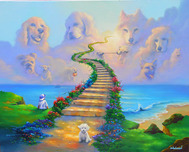 Jim Warren Fine Art Jim Warren Fine Art All Dogs Go to Heaven #1