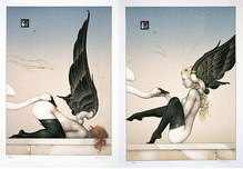 Michael Parkes Art Michael Parkes Art Fallen Angels 1 & 2