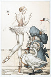 Michael Parkes Art Michael Parkes Art Ballet Mistress