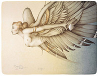 Michael Parkes Art Michael Parkes Art Beyond the Night