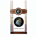 Michael Godard Michael Godard Burning Blackjack - Pool Cue Rack