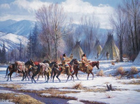 Martin Grelle Martin Grelle Camp Meat and Mules
