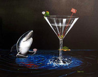 Michael Godard Art & Prints Michael Godard Art & Prints Card Shark (17.5 x 22)
