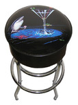Michael Godard Michael Godard Card Shark (Bar Stool)
