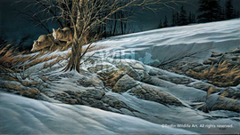 Terry Redlin Terry Redlin Catching the Scent
