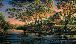 Terry Redlin Terry Redlin Close to Paradise