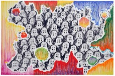 Tom Everhart prints Tom Everhart prints College Dogs Gone Wild (Arty-Fact 01)