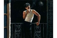 Fabian Perez Fabian Perez Cool Breeze and Cigarette
