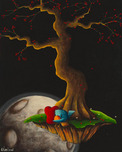 Fabio Napoleoni Fabio Napoleoni Courier Of Love and Hope (SN) - Gallery Wrapped