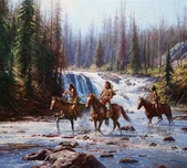 Martin Grelle Martin Grelle Crows in the Yellowstone (SN)