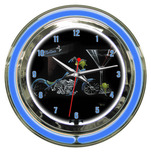 Michael Godard Michael Godard Custom Martini- Neon Clock (Large)