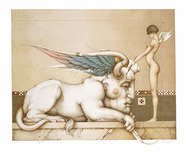 Michael Parkes Art Michael Parkes Art Designing the Sphinx
