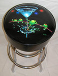 Michael Godard Art & Prints Michael Godard Art & Prints Bar Stool - Dirty Martini