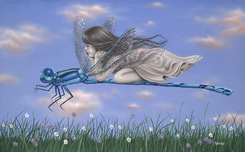 Michael Godard Art & Prints Michael Godard Art & Prints Dragonfly II (AP)