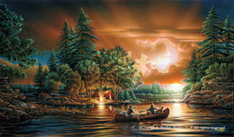 Terry Redlin Terry Redlin Evening Rendezvous