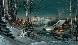 Terry Redlin Terry Redlin Evening With Friends