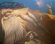 Michael Parkes Art Michael Parkes Art Fallen Angel