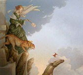Michael Parkes Art Michael Parkes Art Fearless
