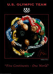 Fabian Perez Fabian Perez Five Continents, One World  -  Official 2010 Olympic Poster