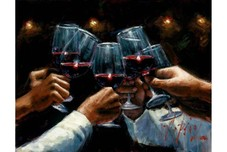 Fabian Perez Fabian Perez For a Better Life Red Wine With Lights
