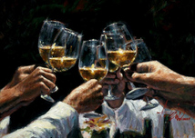 Fabian Perez Fabian Perez For a Better Life II: White Wine