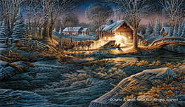 Terry Redlin Terry Redlin Gathering of Friends