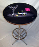 Michael Godard Art & Prints Michael Godard Art & Prints Bar Table - Pocket Rockets