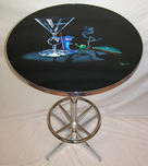 Michael Godard Art & Prints Michael Godard Art & Prints Bar Table - Pool Shark