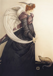 Michael Parkes Art Michael Parkes Art Golden Salamander (large)