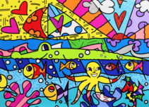 Romero Britto Art Romero Britto Art H20 (SN)