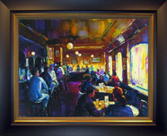 Michael Flohr Art Michael Flohr Art Happy Hour - Framed