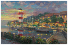 James Coleman Prints James Coleman Prints Harbour Town (SN) (Large)