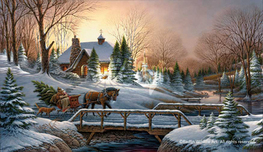 Terry Redlin Terry Redlin Heading Home