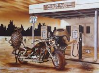 Michael Godard Fine Art Michael Godard Fine Art Historic Route 66 G.P. Edition (American Classic Series)