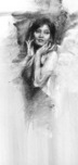Henry Asencio Art Henry Asencio Art Holding The Bouquet (Original) - Framed
