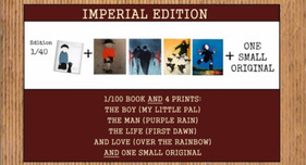 Fine Art Books Fine Art Books Out of the Shadows - Imperial Edition Book, Prints, and Original