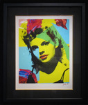James Gill James Gill Judy Garland Blue (Framed)