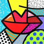 Romero Britto Art Romero Britto Art Juicy (SN)