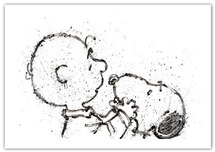 Tom Everhart prints Tom Everhart prints Salmon Breath - Hey Dude, Where's My Color? (PP)