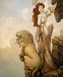Michael Parkes Art Michael Parkes Art The Last Lion