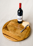 Brad Evans Brad Evans Wine Crate Lazy Susan - Silver Oak Winery