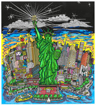 Charles Fazzino Art Charles Fazzino Art Liberty and Justice for All! (DX)