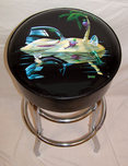 Michael Godard Fine Art Michael Godard Fine Art Bar Stool - Lost in Paradise