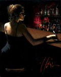 Fabian Perez Fabian Perez Luciana at the Bar