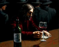 Fabian Perez Fabian Perez Man at the Bar