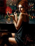 Fabian Perez Fabian Perez Marissa at the Bar