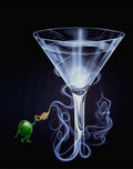Michael Godard Art & Prints Michael Godard Art & Prints Martini Genie (AP)